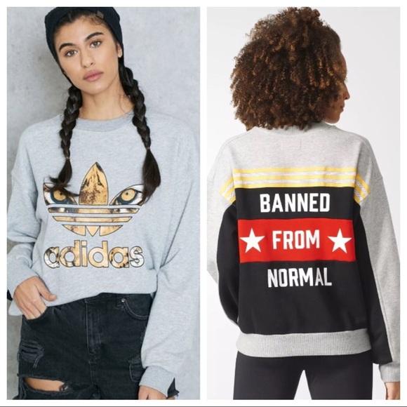 Rita Nwt Normal Adidas Poshmark Sweatshirt From Banned Tops Ora Evaqa4w 12f5b4fb5e993